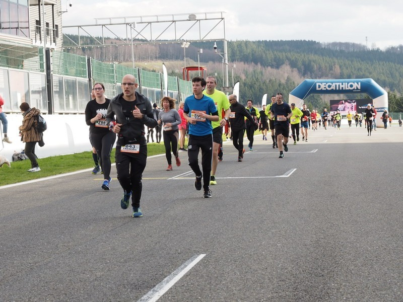 Spa-Francorchamps Run Uitslagen 2019