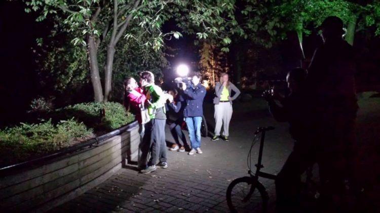 Hondsrug Trail Estafette 's Nachts rennen om de Savanne