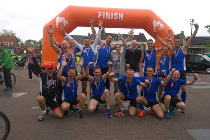 Ultrateam AC TION wint de eerste elfsteden estafette