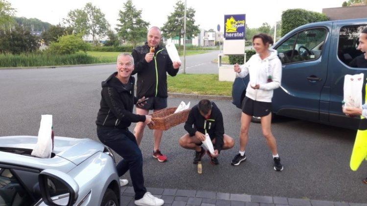 Noorder Rondrit Estafette Loopgroep Run For Fun